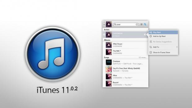 iTunes 11.0.2 Summary