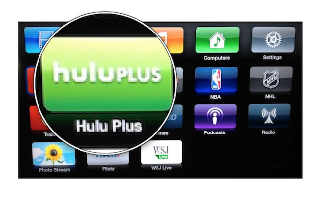 Apple TV with Hulu Plus : CafeiOS.net