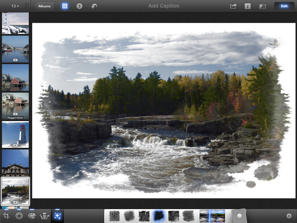 iphoto for iOS is good image editor