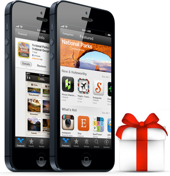 iPhone Christmas Apps for Real Entertainment