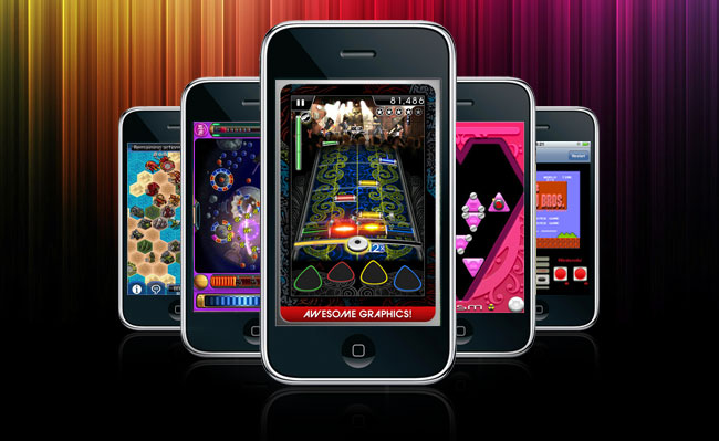 top 5 free games for iphone 2014