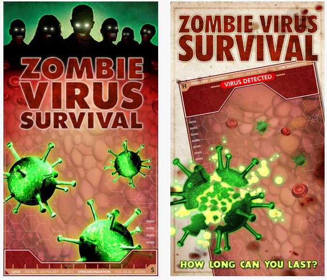 Zombie Virus Survival – A New Free iPhone Game
