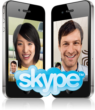New remastered Skype version for iPhone users