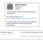 Apple Rolls Out iOS 8 Beta 3 – Fixes a Number of Bugs