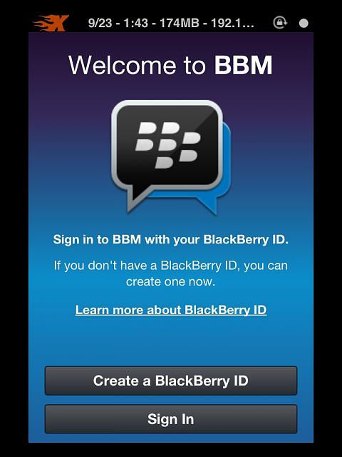 How to get Black Berry Messenger on iPhone and iPad